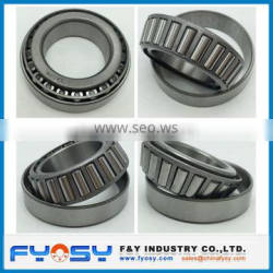 china factory supply single row inch and metric tapered roller bearing 30205 30206 30207 30208 30209 with good price