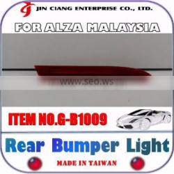 FOR PERODUA ALZA MALAYSIA Parts LED REAR BUMPER LIGHT Red Brake Warning