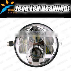 """wholesale IP67 7INCH ROUND led headlight for jeep wrangler led headlight 7"""" led headlight"""