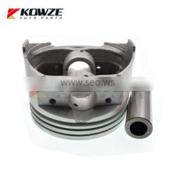 Piston And Pin Assembly For Mitsubishi Pajero V73 6G72 Sport K96 MD367099