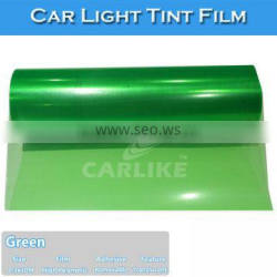 H8008 High Stretch Best Quality Green Car Film Auto Headlight Vinyl