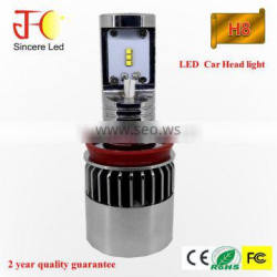 Hot sale car H4 H7 H8 H9 H11 H16 9003 led headlight bulbs ZES Chips 4000 lumen fog lamp 9005 9006 9007 H13 LED headlight kit