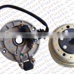 Magneto Stator 1 Pole 3 Wire Flywheel Rotor YingXiang 140CC Xmotos Kaya Apollo Dirt Pit Bike Parts