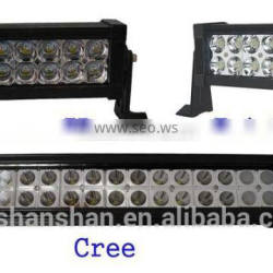 double rows LED light bar for jeep and truck/2 row led bar