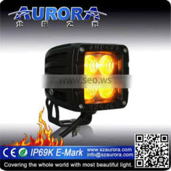 IP69K 2 inch amber work light 4x4 motorcycle led driving lights