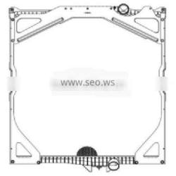 Auto cooling parts for VOLVO 65462A 8500327 1676543 radiator