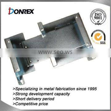 factory price of OEM small industrial steel fabrication with surface treatment
