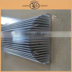 Extruded Aluminum Alloy Heatsink Profiles, China Gold Supplier
