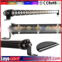 jeep driving light 49inch 144w thin led light bar with mounting bracket