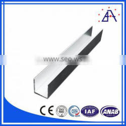 New Product U-Slot Aluminum Profile For Furniture