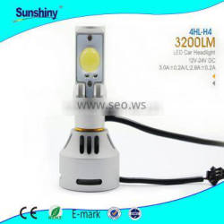 New model Led car headlight 4hl 9007 h4 D1/D3 D2/D4 3200lm supplier of Auto parts