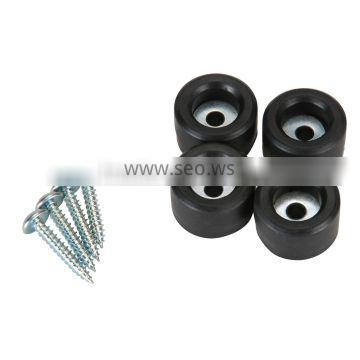 furniture screw rubber feet for metal