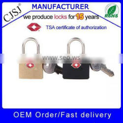 2016 TSA lock facotry Wholesale TSA-385 brass padlock