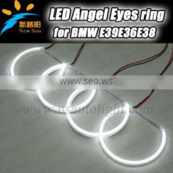 Factory direc sale 3014 SMD led angel eyes 9-16V DC high power auto led halo rings for BMW E36 E38 E39