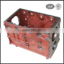Custom cast grey iron casting gearbox for agricultural machinery