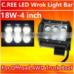 Hot selling head lamp 4 inch LED work light bar for Truck high quality with 1 year warranty