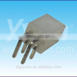 Dongguan 4.20mm pitch 4 pin right angle dual row wafer connector