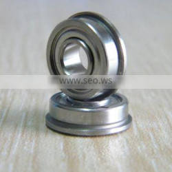 MF115ZZ F685ZZ F695ZZ stainless steel flange bearings for printing machinery
