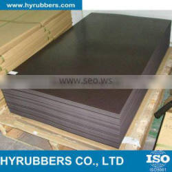 High temperature ozone resistant black silicone rubber sheet