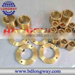 precision brass/copper casting service from lost wax casting factory
