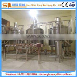 Optimized brew house brewery equipment 10bbl micro beer equipment