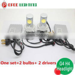 Competitive Price h4 led headlight,G4 30w 3200lumen h4 led headlight