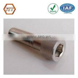 High precision cnc lathe turning steel furniture screw
