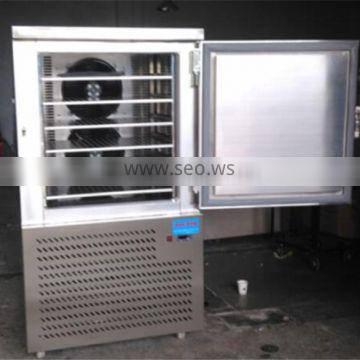 Multifunction Stainless steel lower temperature quick- freeze upright freezer and supermarket freezer