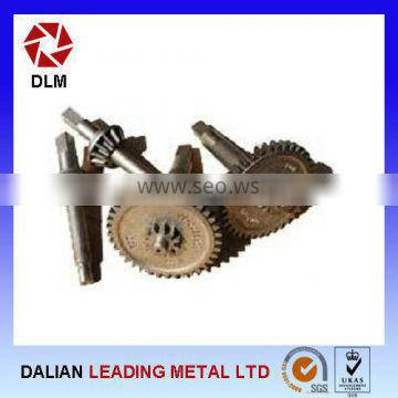 High Precision OEM Ductile Iron Casting Gear Shaft