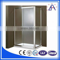 24 years chinese manufacturer aluminum profile for bathroom frame