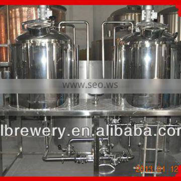 A complete set of Stainless steel 100l micro brewery equipment