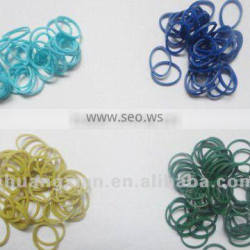 colour band for natural elastic rubber bands