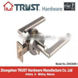 ZH036:trust Zinc Alloy Lever Handle Privacy function