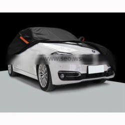 Black 190T polyester car covers