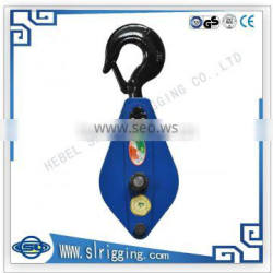 Excellent manufacture hotsale best quality swiveling hoist snatch block