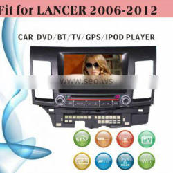 android car dvd player fit for Mitsubishi Lancer 2006 - 2012 with radio bluetooth gps tv
