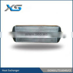 high performace 600*240*76 core plate and fin front mount universal Intercooler