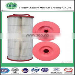 Resistance corrosion cartridge and window dust filter