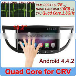 Ownice Pure Android 4.4.2 Quad Core 1.6GHz touch screen car dvd player for honda crv +2GB DDR3 +16GB Flash