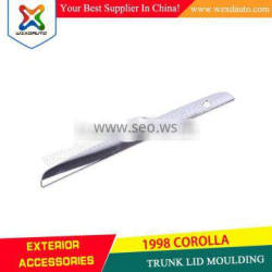 Product Catalogue Download SIZZLE For Toyota Corolla Door Parts 2009-2011 COROLLA Chrome Trunk Lid Moulding