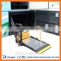 WL-T Rotating Electric Hydraulic Coach Wheelchair Lift for Tourist Bus