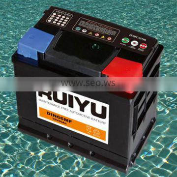 High quality ! SMF 57531 12V75AH auto battery / lead acid battery/car battery/ storage battery for sale
