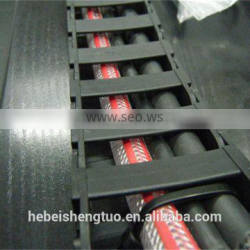 flexible cnc plastic cable chain