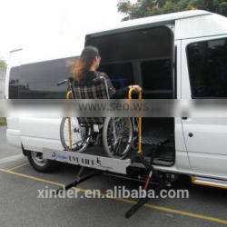 Xinder Scissor lift platform for wheelchair for van and minubus