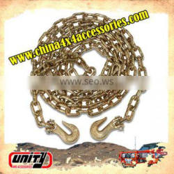 4x4 offroad 1.8 metre tow chain for eletric winch