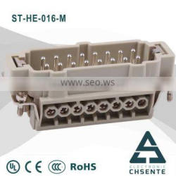 ST- HE terminal connector female to male electrical clamp 16 pin female connector socket