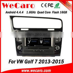 "Wecaro 7"" WC-7003 Android 4.4.4 car multimedia system in dash for vw golf 7 car multimedia dvd player stereo GPS 2013 2014 2015"