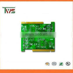 customized PCB, 94V0 rohs pcb board , 4 layer pcb with gold finger