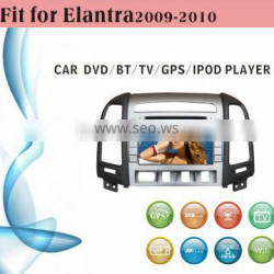 2 din car dvd player tv antenna fit for Hyundai Elantra 2009 with radio bluetooth gps tv