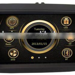 New design dual zone wince car deckless media for VW Sagitar/Magotan/Polo with GPS/Bluetooth/Radio/SWC/Virtual 6CD/3G /ATV/iPod